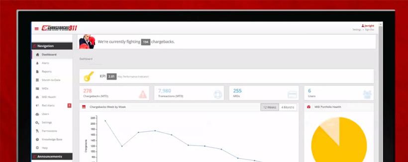 Chargeback Client Portal