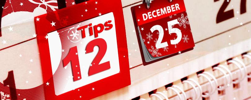 Holidays  tip header