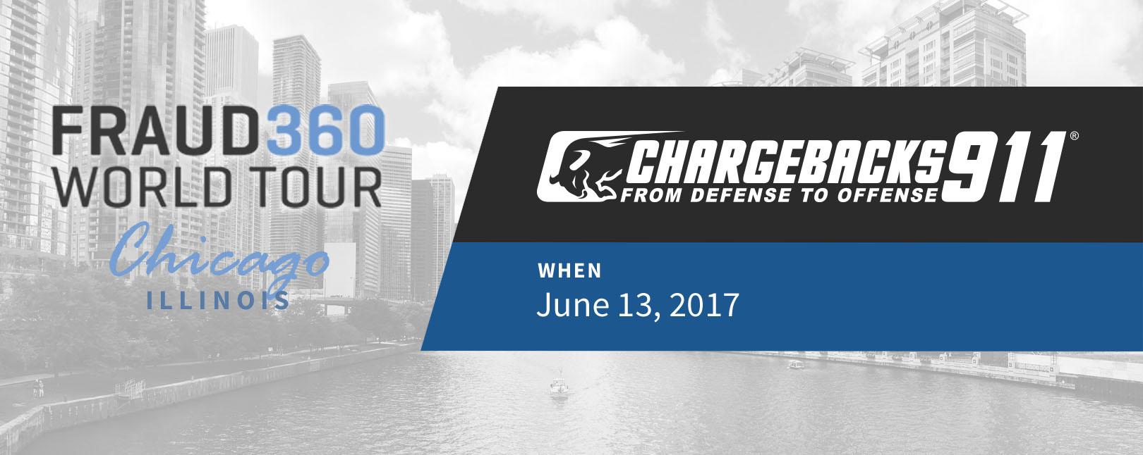 Chargebacks911 at Fraud360 World Tour - Chicago