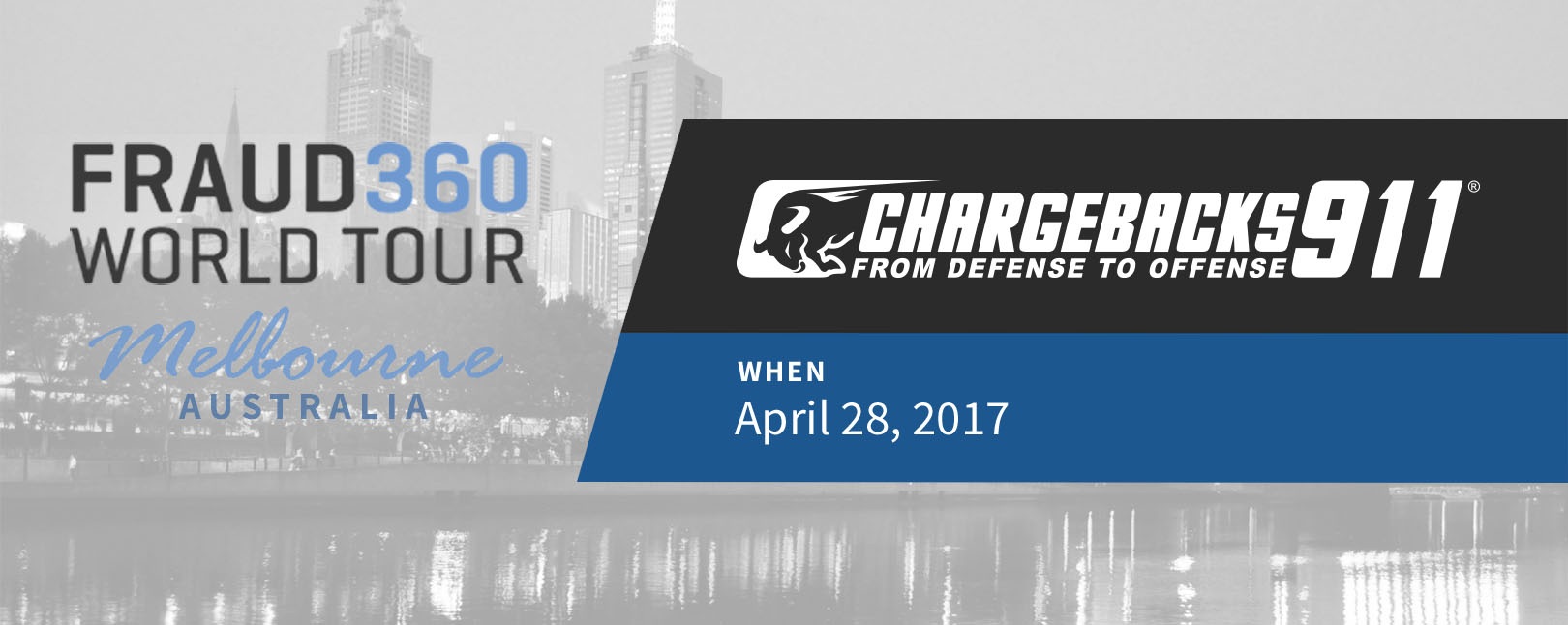 Chargebacks911 at Fraud360 World Tour - Melbourne