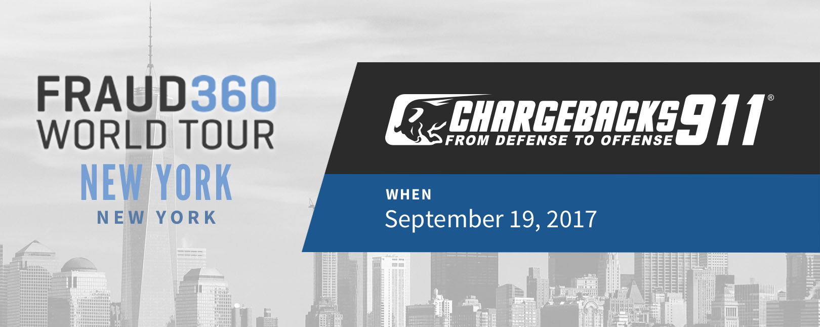 Chargebacks911 Fraud360 Tour - New York