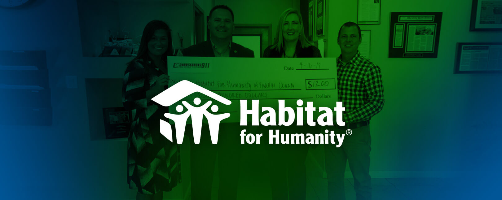 We're Lending a Hand with Habitat for Humanity