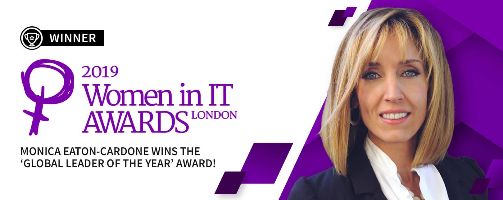 2019 Women in IT Awards London Winner