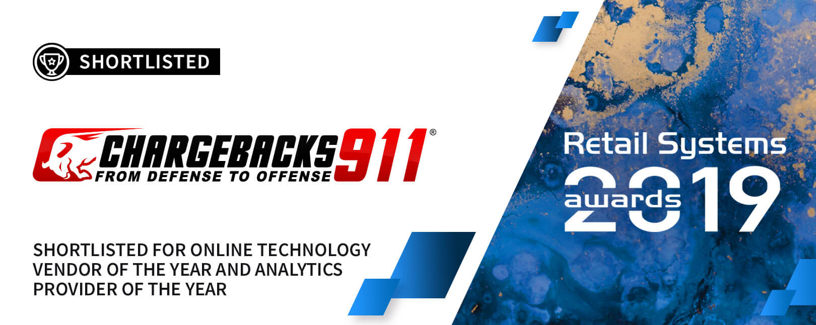 Chargebacks911® Selected for Retail Systems Awards 2019