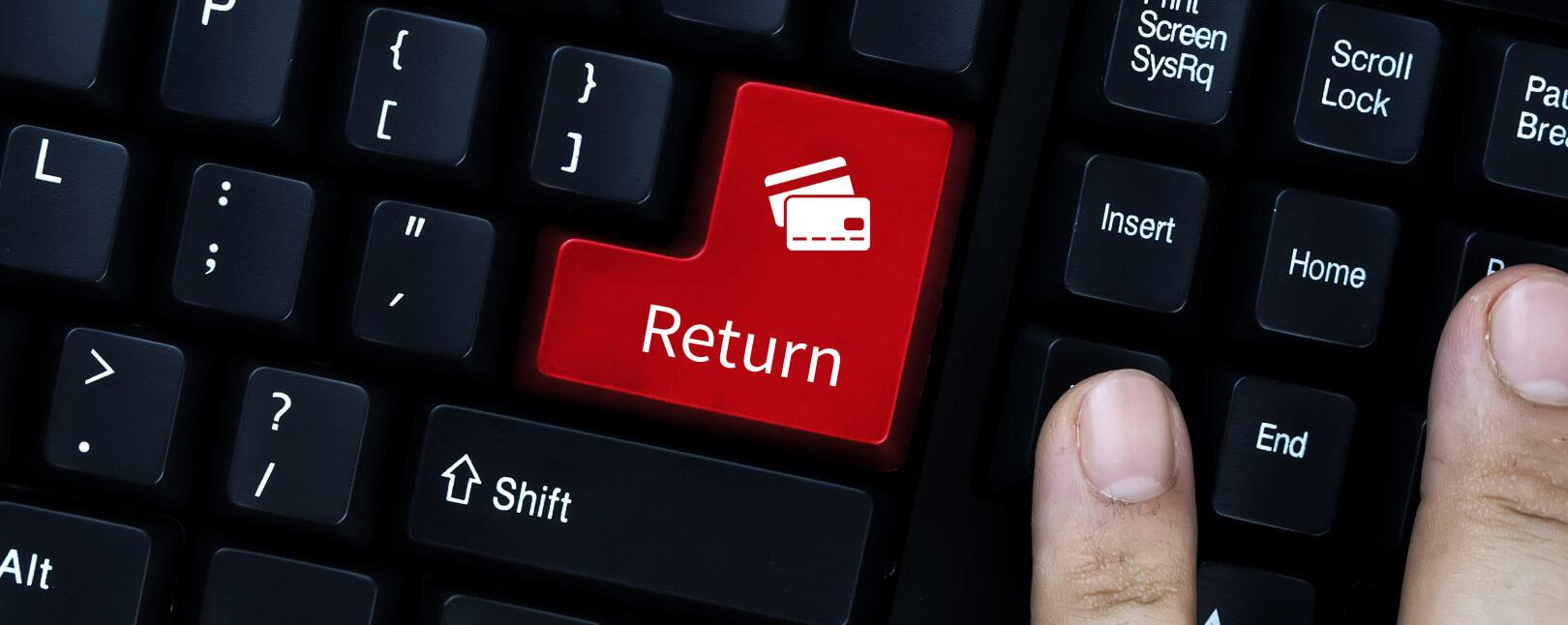Visa Return Auth Button