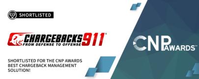 """Chargebacks911® Selected for """"Best Chargeback Management Program""""!"""