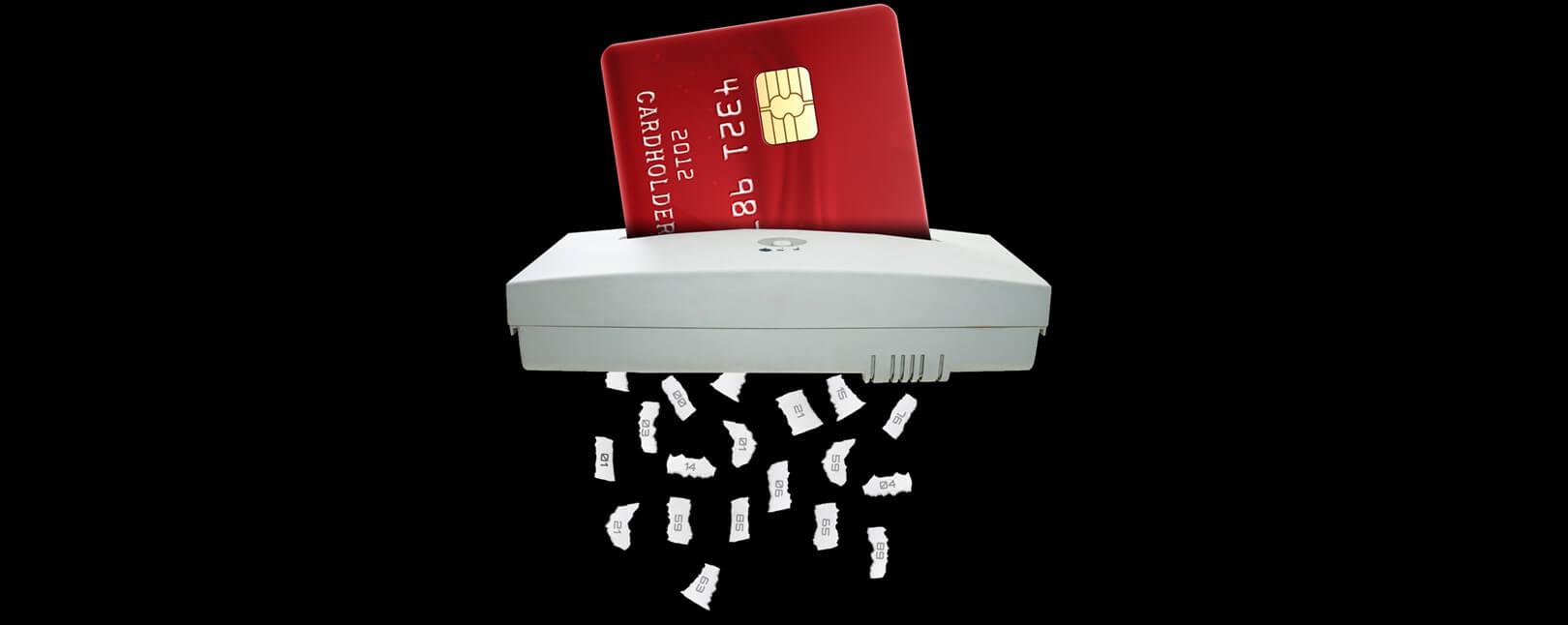 Credit Card Decline Codes Shredder Card