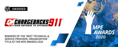 "Chargebacks911® Named ""Best Service Provider"" at MPE Awards!"