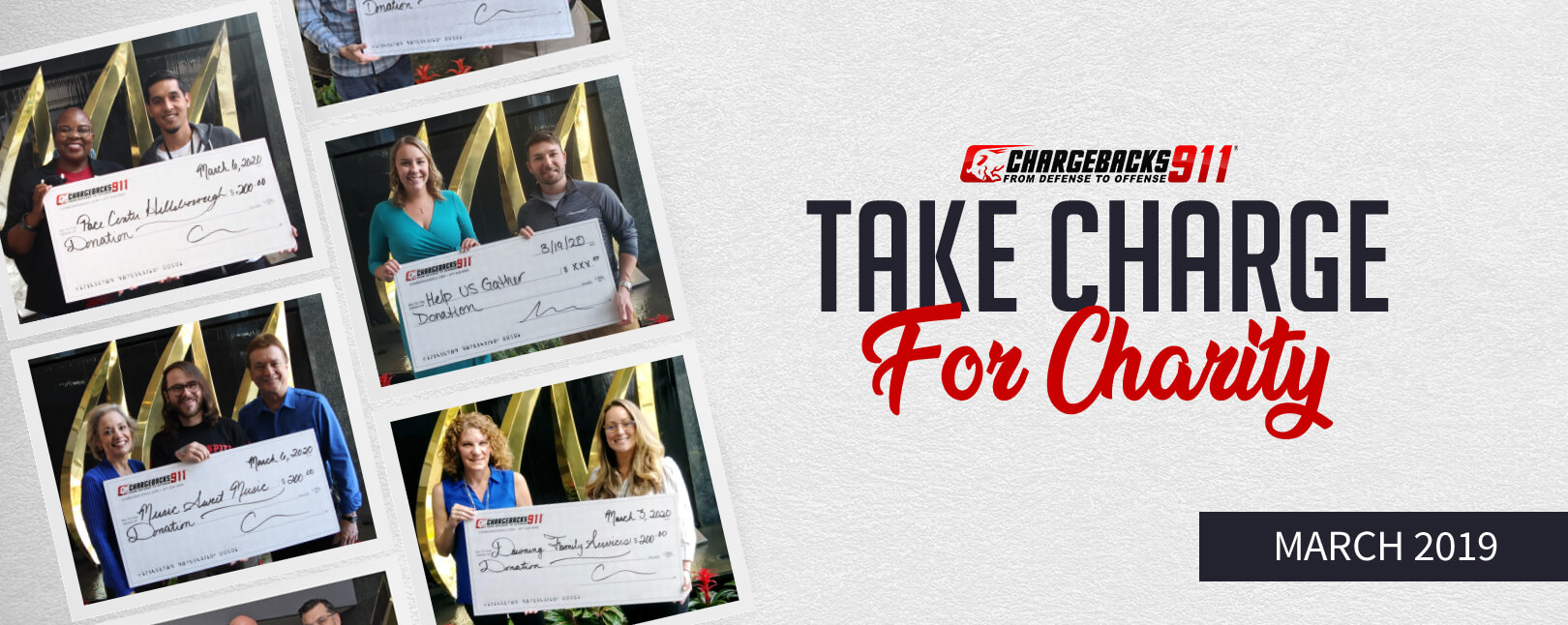 Take Charge for Charity – March 2020