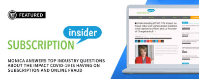 Chargebacks911® COO Hosts Industry Q&A for Subscription Insider
