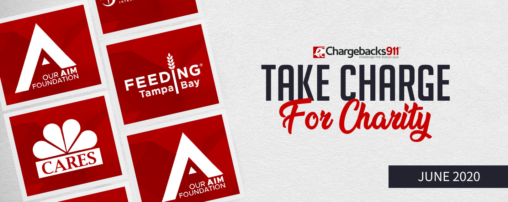 Take Charge for Charity – June 2020