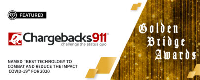"Chargebacks911® Wins ""Best Technology"" Award!"