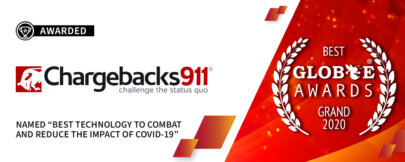 """Chargebacks911® Named """"Best Technology to Reduce Impact of COVID-19""""!"""