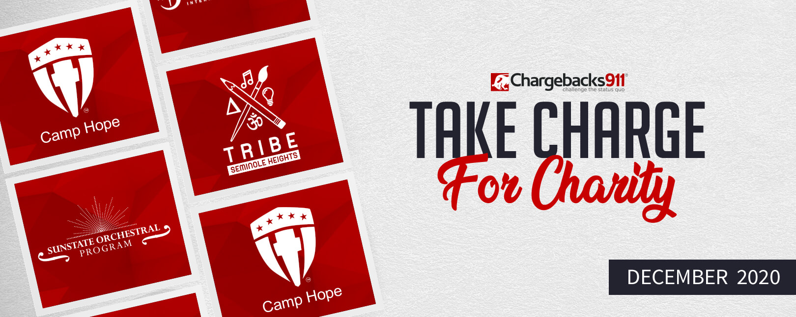 Take Charge for Charity – December 2020