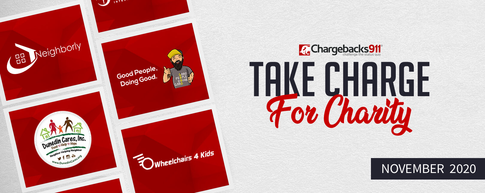 Take Charge for Charity – November 2020