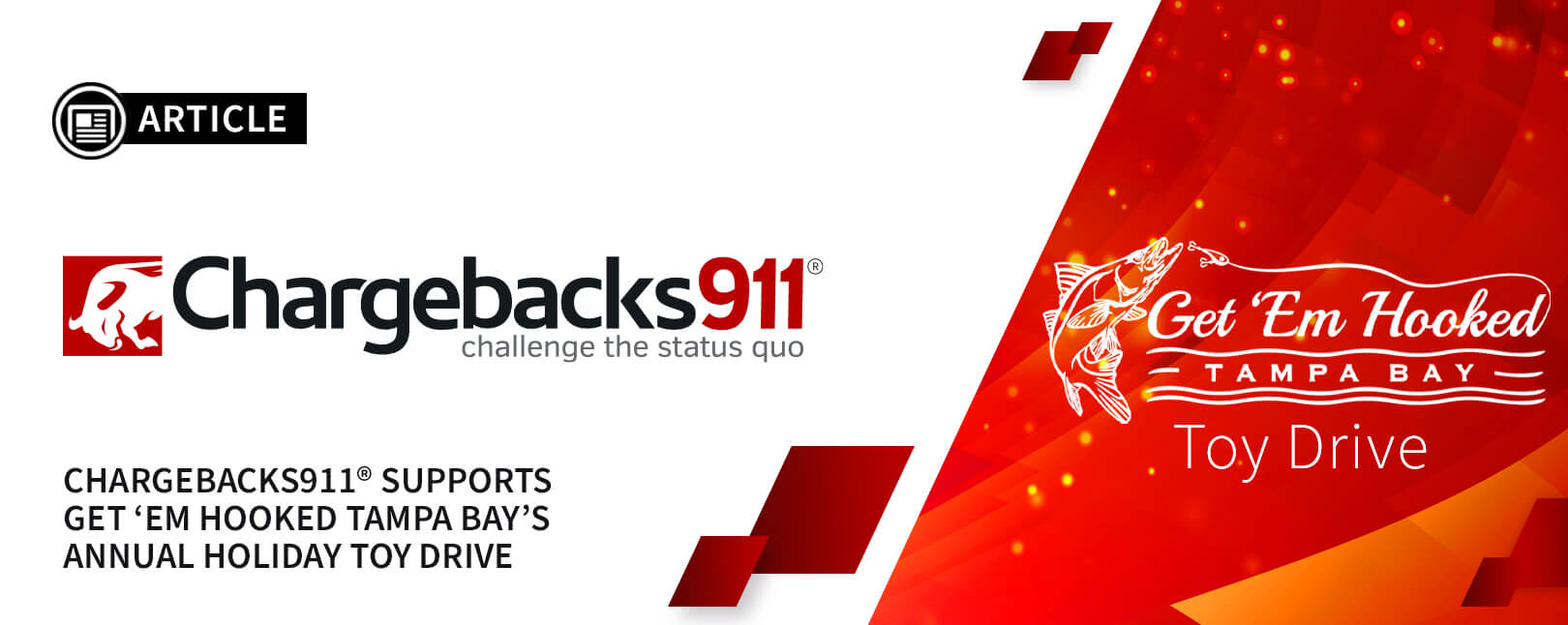 Chargebacks911® Participates in 2020 Holiday Toy Drive