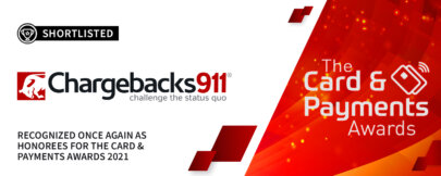 "Chargebacks911® Nominated for ""Best Service to Business"""