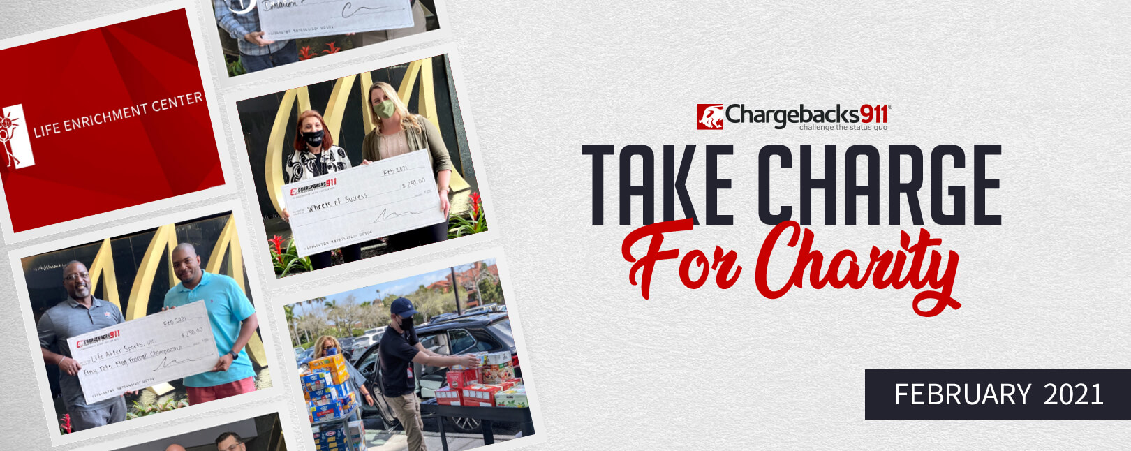 Take Charge for Charity – February 2021