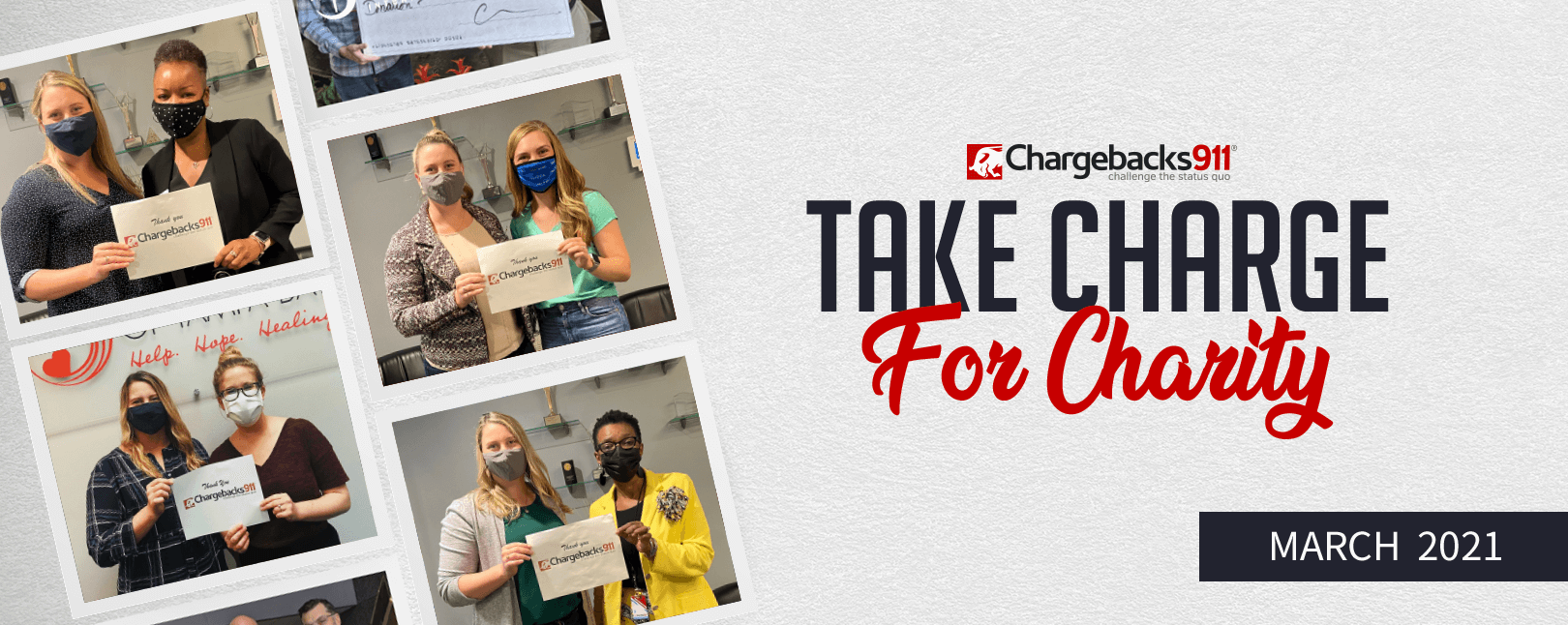 Take Charge for Charity – March 2021