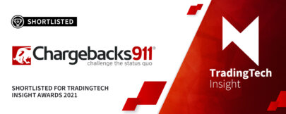 Chargebacks911® Shortlisted for TradingTech Insight Awards 2021