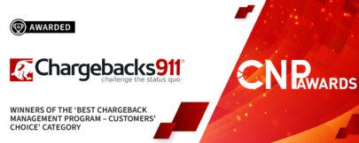 "Chargebacks911®: The ""Best Chargeback Management Program"" for 2021!"