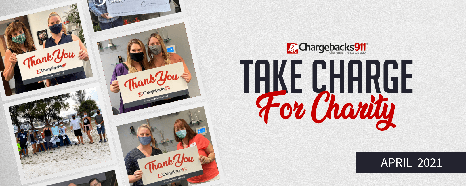 Take Charge for Charity – April 2021