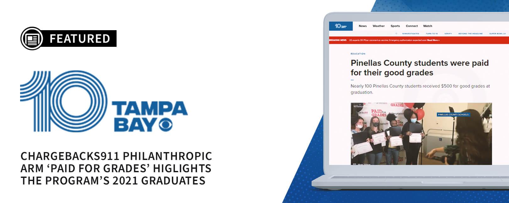 Chargebacks911® Philanthropic Efforts Featured on WTSP