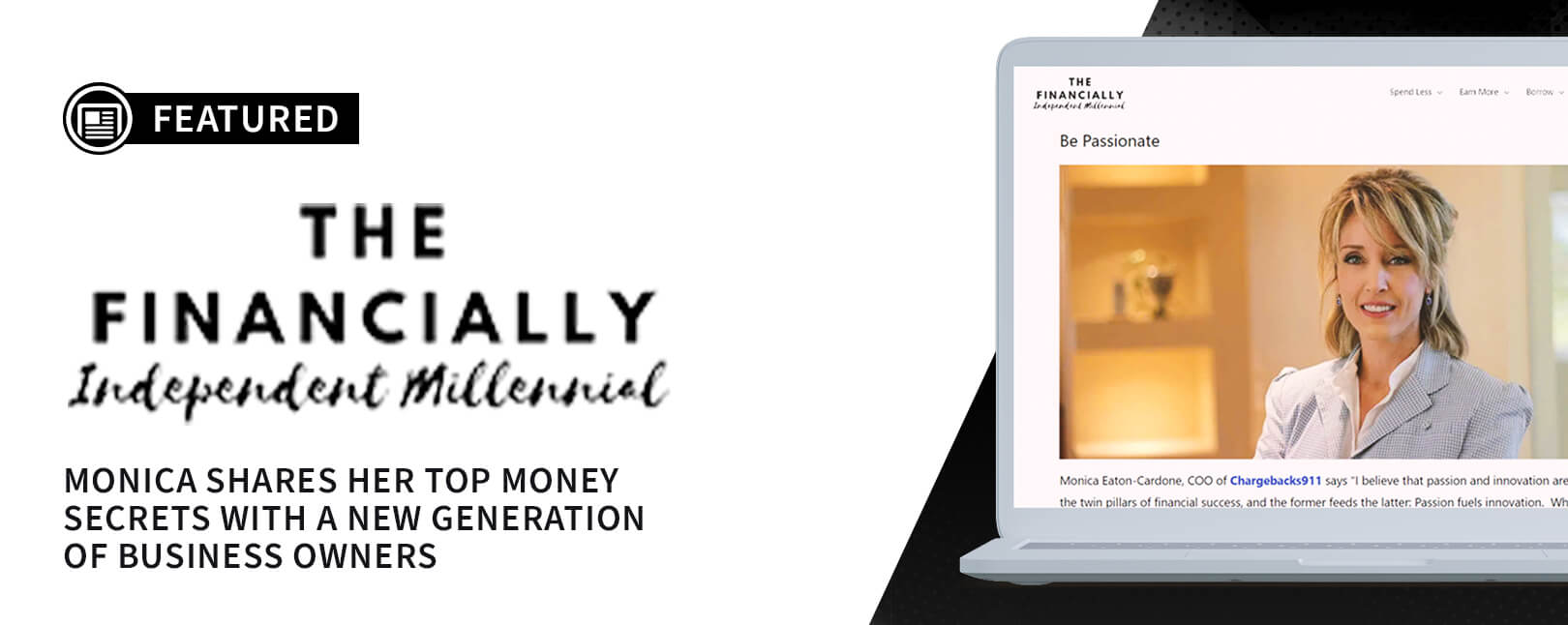 Chargebacks911® COO Featured on Financially Independent Millennial Blog
