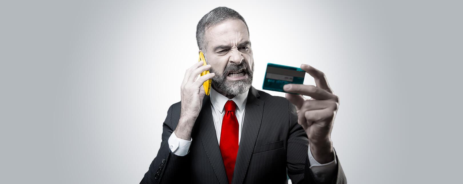 payment card dispute