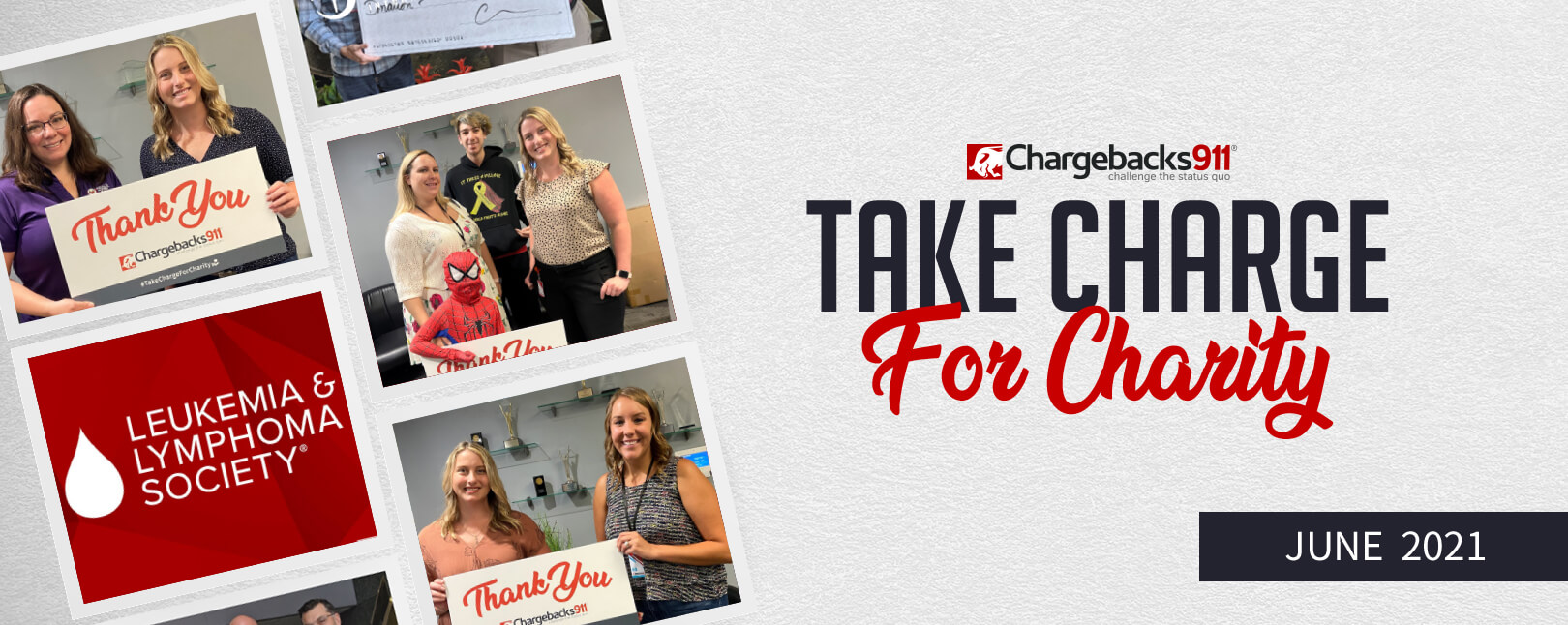 Take Charge for Charity – June 2021