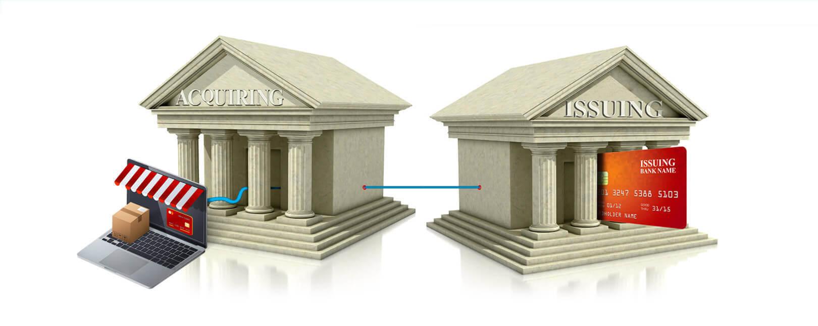 Issuer vs acquirer