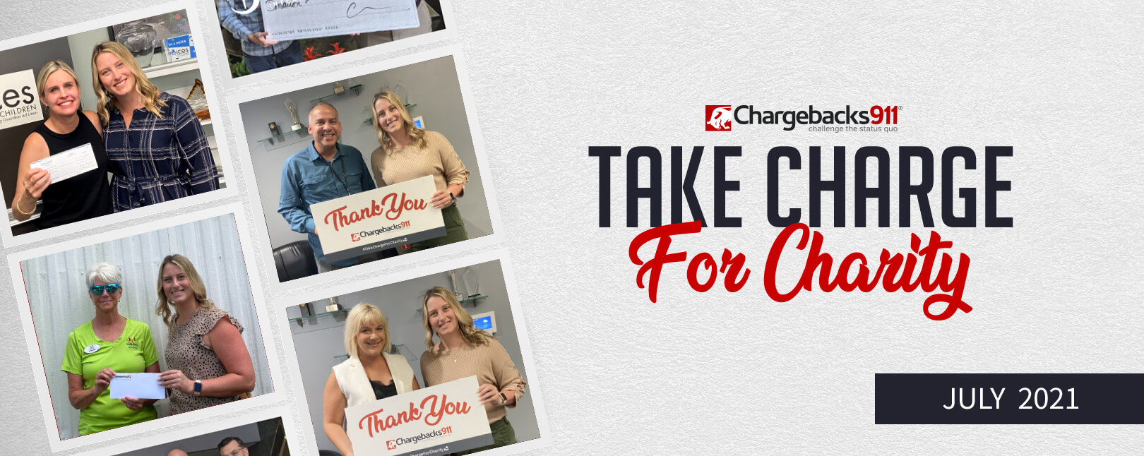 Take Charge for Charity – July 2021