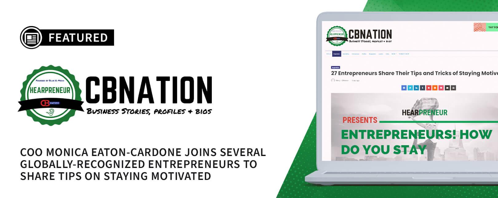 Chargebacks911® COO Shares Her Top Entrepreneurial Motivation Tip