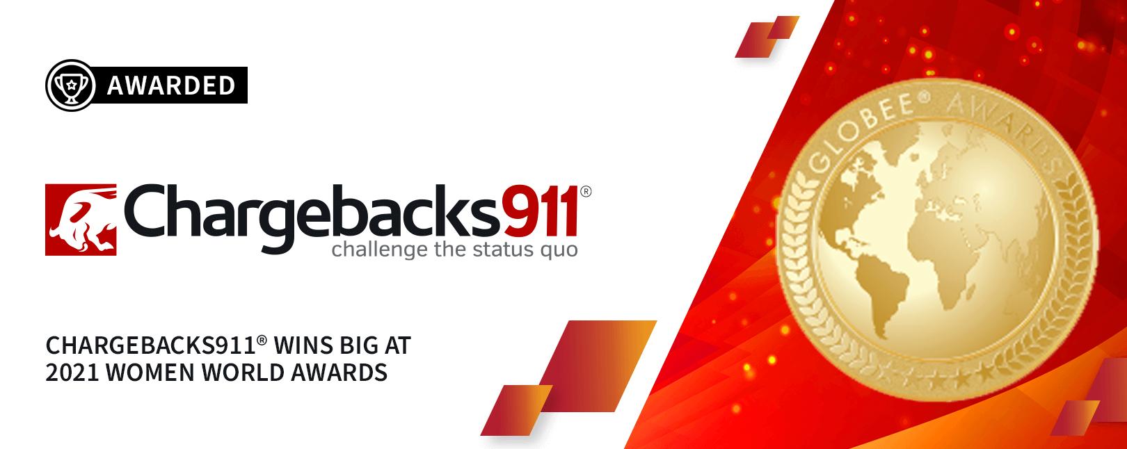 Chargebacks911® Wins Big at 2021 Women World Awards