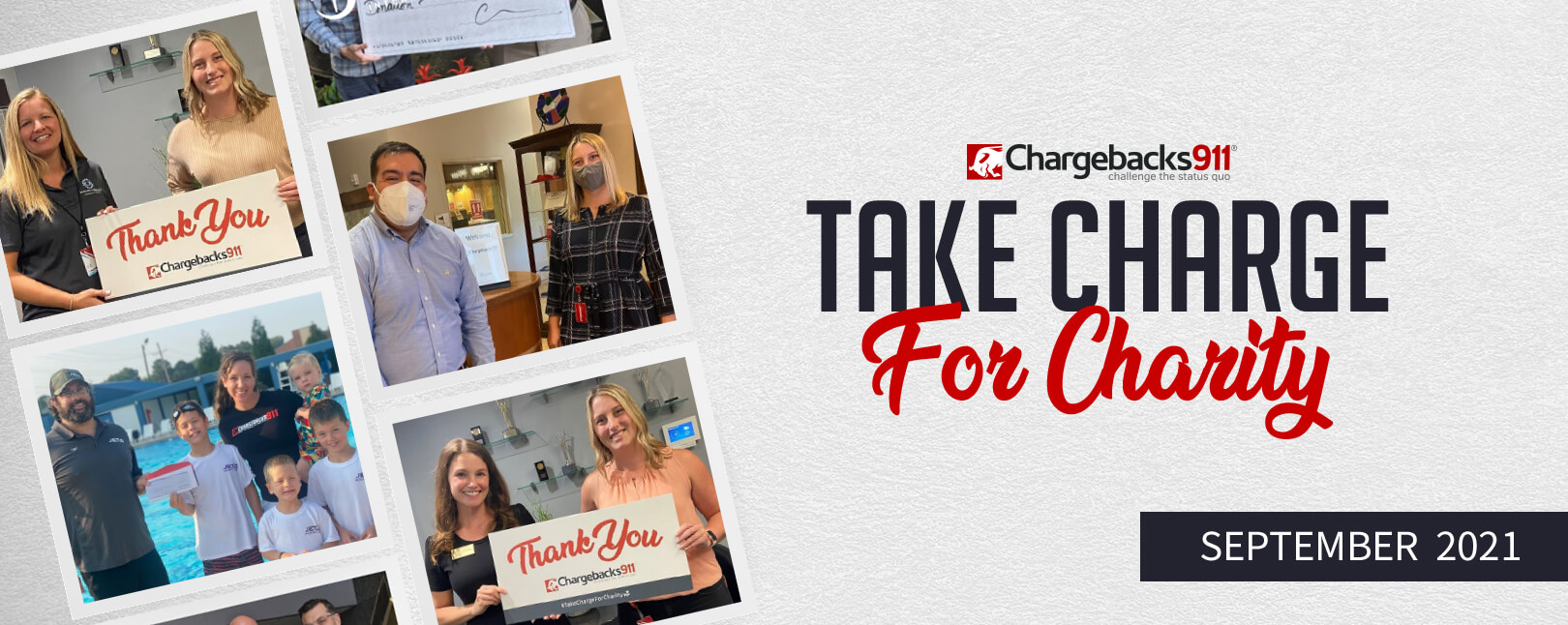 Take Charge for Charity – August 2021